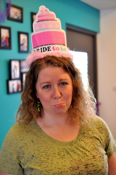 """""""Do I have to wear this PINK hat??"""""""