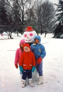 Hatchlings & Cynthia the Snow-Woman