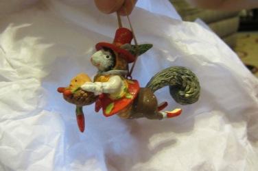 A flying squirrel ornament?