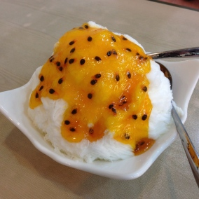 Passion fruit bing.