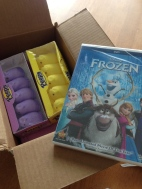 An Easter package from Mom and Dad.