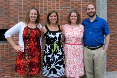 The Hatcher and Prezalor gang dressed in our Easter best.