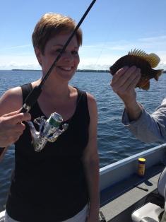 Mom's sun fish.