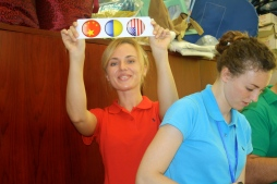 China, Ukraine, and USA--teammates working together!