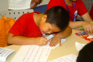Copying his verse of the day.