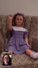 """""""Happy birthday,"""" from Chucky"""