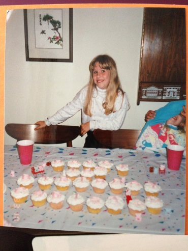 Ash sent this photo from my 10th birthday in my birthday card. I haven't changed much...