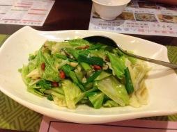 Seasonal vegetables.