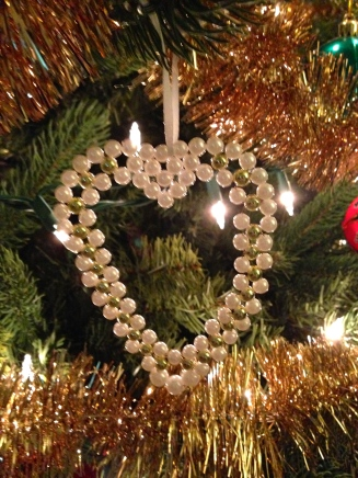 My mom made these ornaments for all our wedding guests. What a beautiful reminder of a beautiful day!